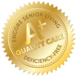 A+ Quality Care Deficiency Free Seal